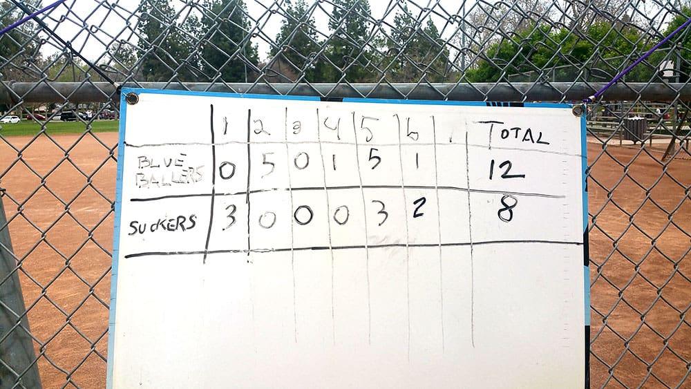 Softball Sunday 1